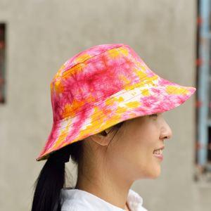 靚染漁夫帽(雙面雙色)