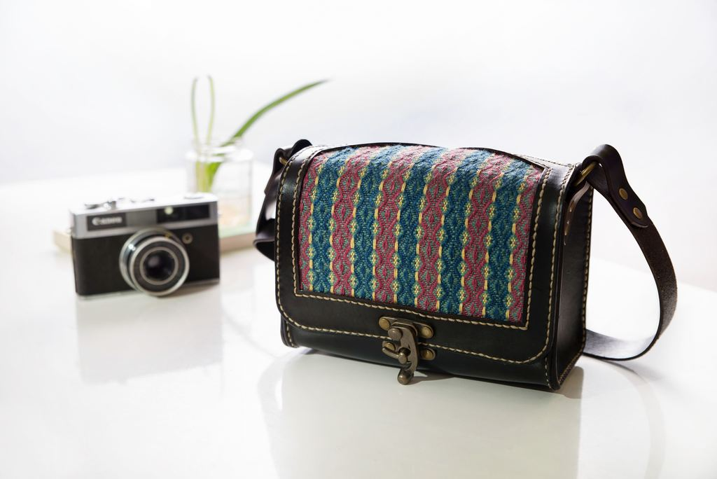 編織相機包