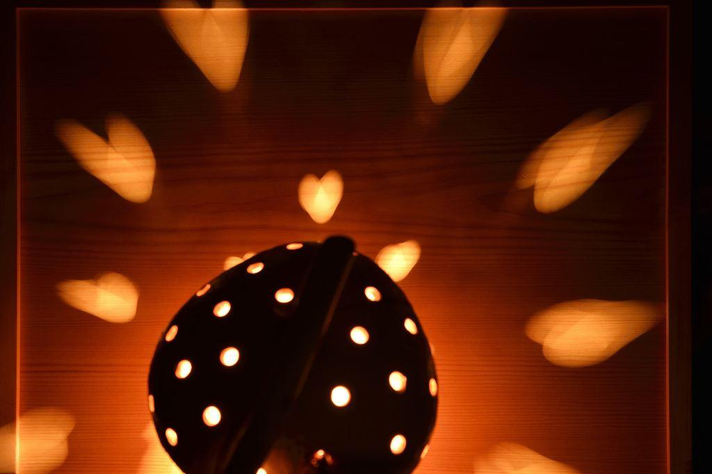 漂流木燈-椰殼