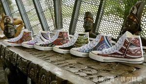 創意帆布鞋設計