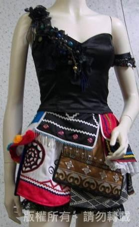<創新原住民服飾作品>