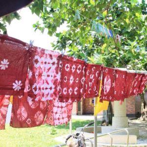 花手巾植物染工坊|植物染體驗