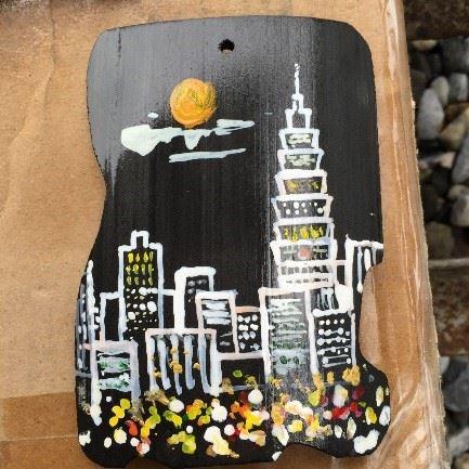 讚炭工房|彩繪炭片DIY