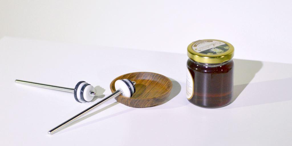 大理石蜂蜜提取棒
