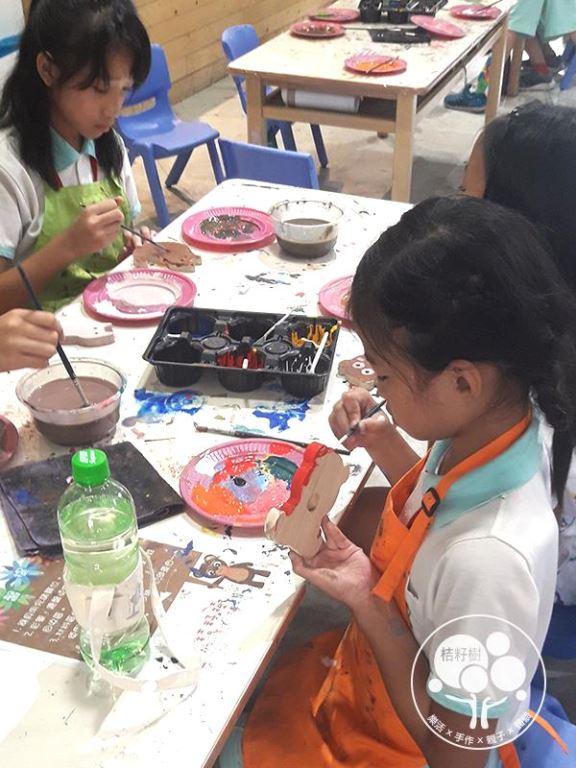 桔籽樹手作藝術空間 各式木工彩繪手作體驗