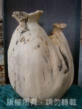 <檜木花瓶>