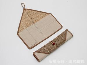 香蕉絲作品-筷子袋