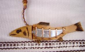 苦花魚造型項鍊