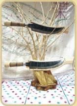 木柄實用刀